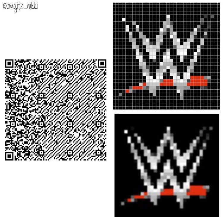 WWE logo for your wall or clothes. Animal crossing, New