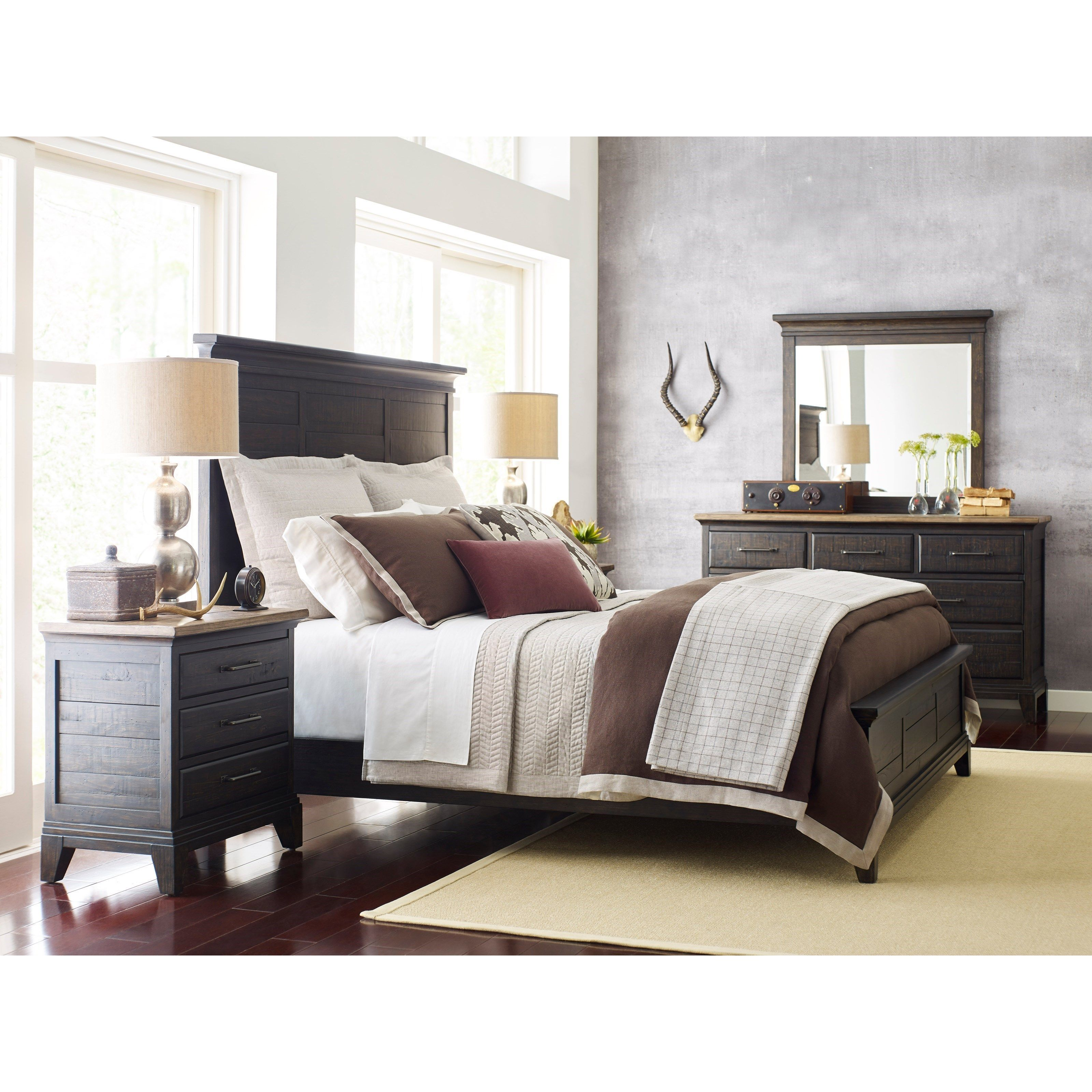 Plank Road King Bedroom Group by Kincaid Furniture