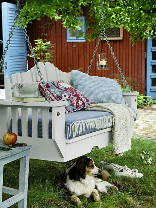 31 idées pour une balancelle de jardin design | Garten | Outdoor ...
