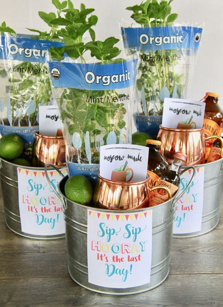 This Moscow Mule Teacher Thank You Gift is the perfect End of the School Year Gift for teachers everywhere! Start summer off right with a Moscow Mule to drink complete with all the ingredients necessary to make one!