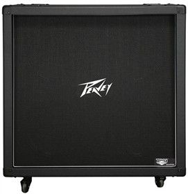 """The Peavey 430B Straight loudspeaker enclosure is loaded with four 12"""" Stephens™ Tru-Sonic™ V30 speakers in a switchable stereo/mono configuration, and rated at 120 watts max power handling at 16 ohms."""