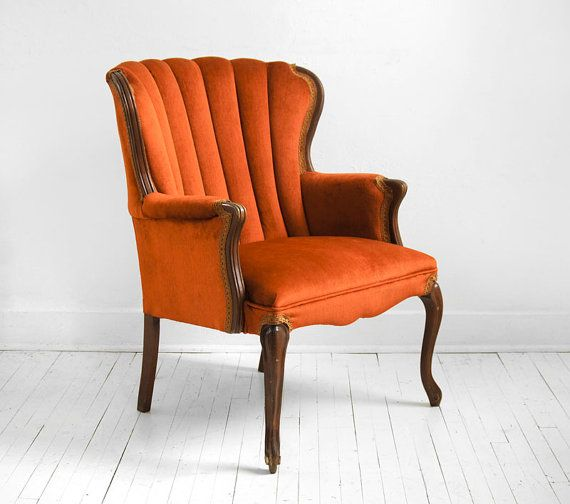 Antique Lounge Chair Antique Mid Century Modern Retro by Hindsvik - I Am In LOVE With This! Antique Lounge Chair Antique Mid Century