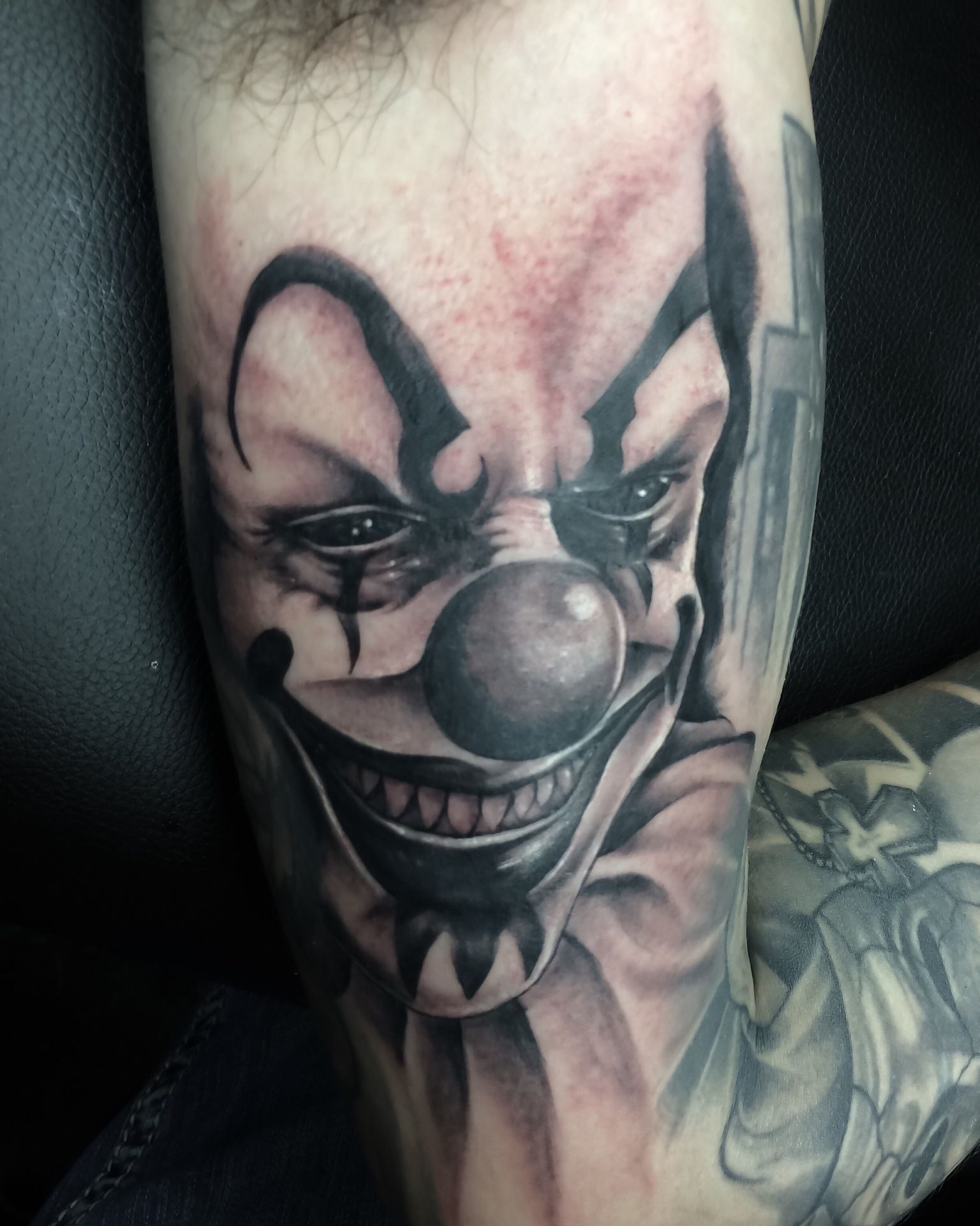Sad Clown Face Tattoo 32 Exciting Black And Grey Tattoos T