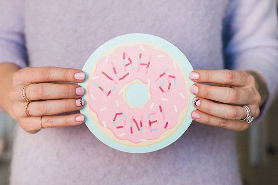 Donut party first birthday | Photos by Nicki Sebastian | 100 Layer Cakelet | Wedding & Party Ideas | 100 Layer Cake