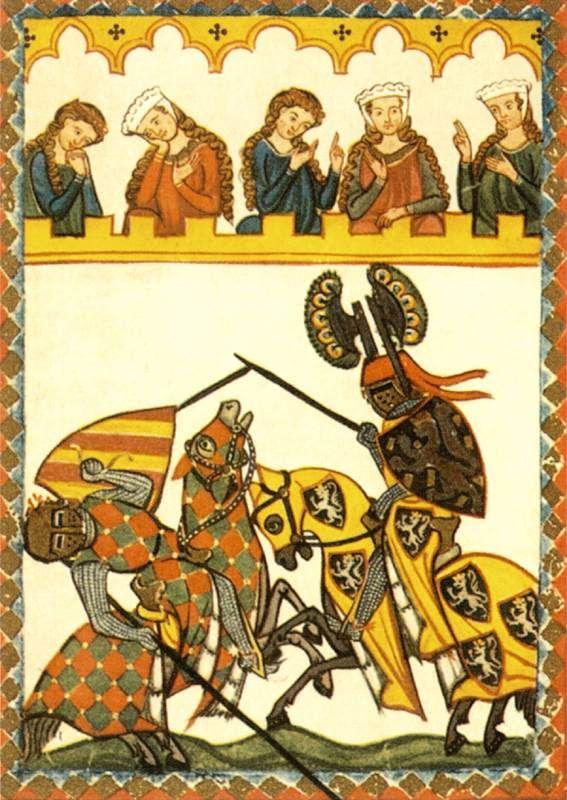 MINIATURIST, SwissCodex Manesse1310-40Manuscript (Codex Pal. Germ. 848), 355 x 250 mmUniversitätsbibliothek, Heidelberg