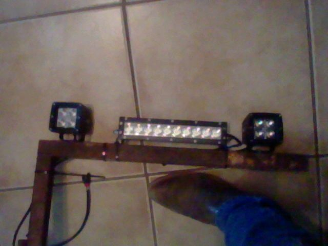 10in single row anzo led light bar and two cree quad fire leds all 10in single row anzo led light bar and two cree quad fire leds all are 1500 aloadofball Images