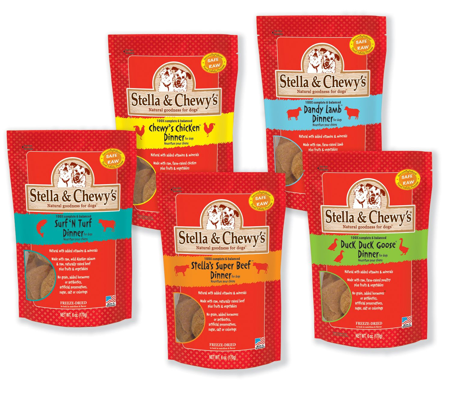 Stella and Chewy's FRESH from the FARM Pet Food. All