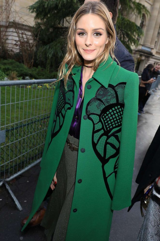 d1cc06b4aef Olivia Palermo at Nina Ricci Show at 2017 PFW in Paris - March 4, 2017
