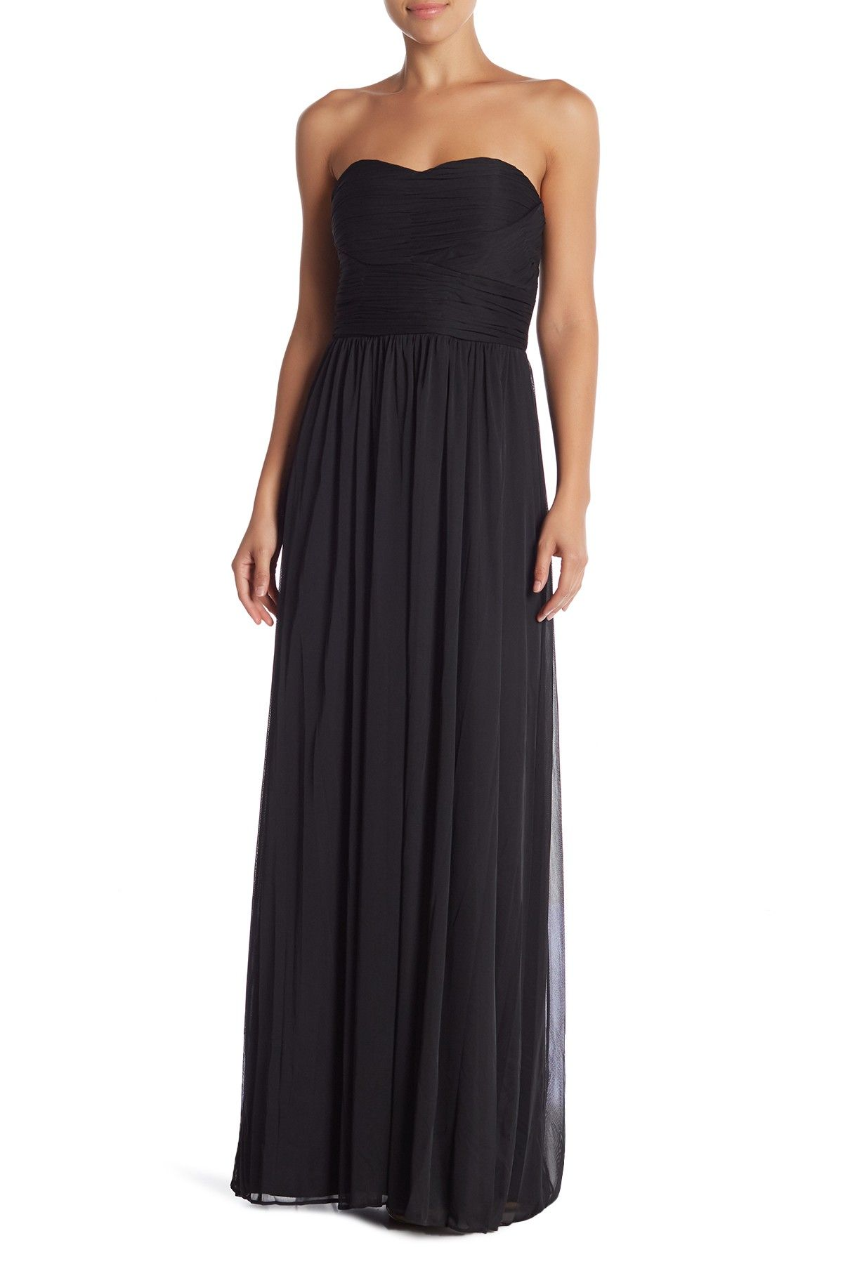 13c927b64b94 Strapless Roused Gown by Marina on @nordstrom_rack Chiffon Gown, Dress Up,  Dress Outfits