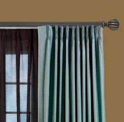 2 1 4 Select Premium Decorative Traverse Rods Wood Curtain Rods