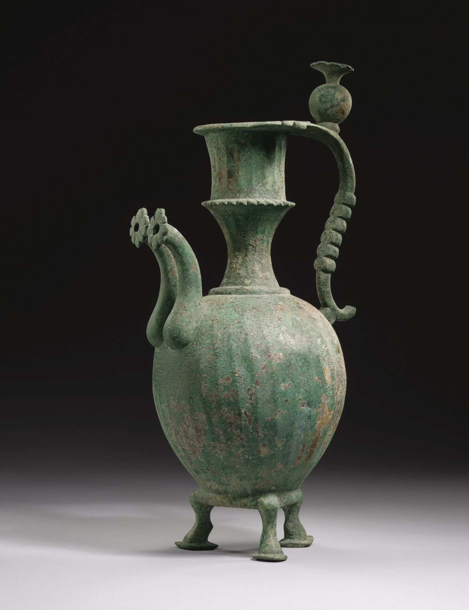 A large umayyad or early abbasid bronze ewer persia 8th century a large umayyad or early abbasid bronze ewer persia 8th century reviewsmspy