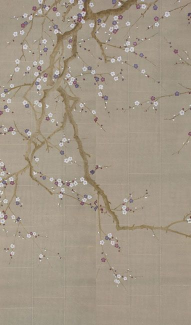 hand painted wallpaper :: chinoiserie wallpaper ::