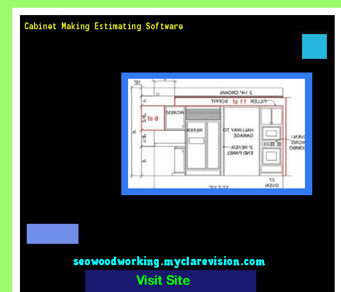 Merveilleux Cabinet Making Estimating Software 182022   Woodworking Plans And Projects!