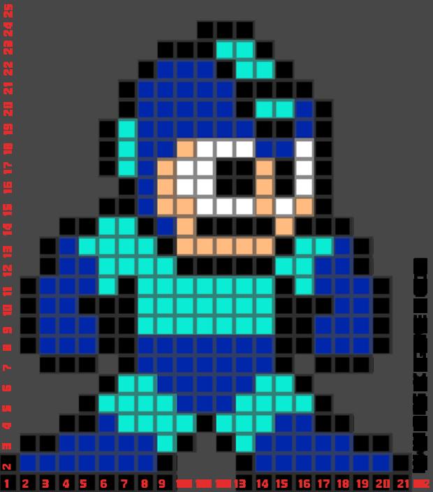 mega pixel art