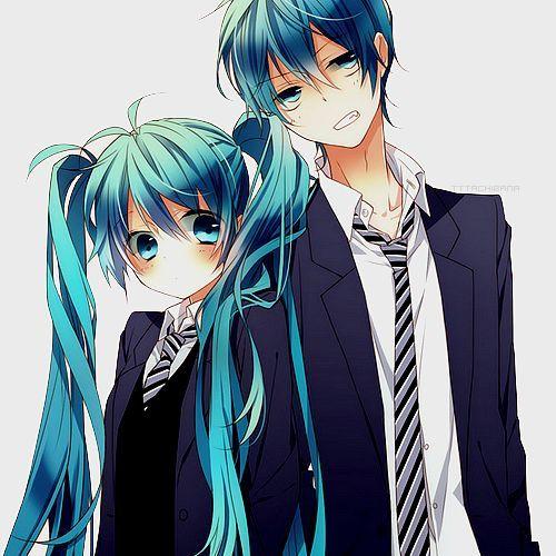 Image Result For Anime Twins Boy Girl Vocaloid Anime Siblings Hatsune Miku