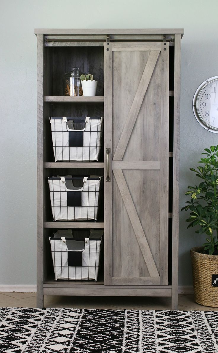 Home Farmhouse Storage Cabinets Farmhouse Office