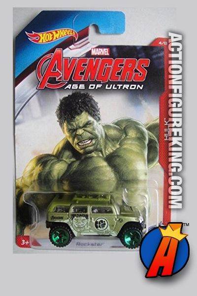 2015 Hot Wheels Avengers Age Of Ultron Hulk Rockator Die Cast Vehicle Hot Wheels Toys Hot Wheels Hot Wheels Marvel