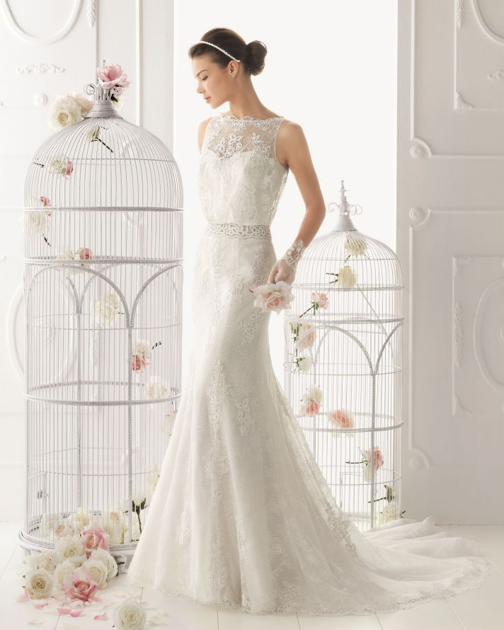 25 Timeless Wedding Gowns From Aire Barcelona 2017 Onewed