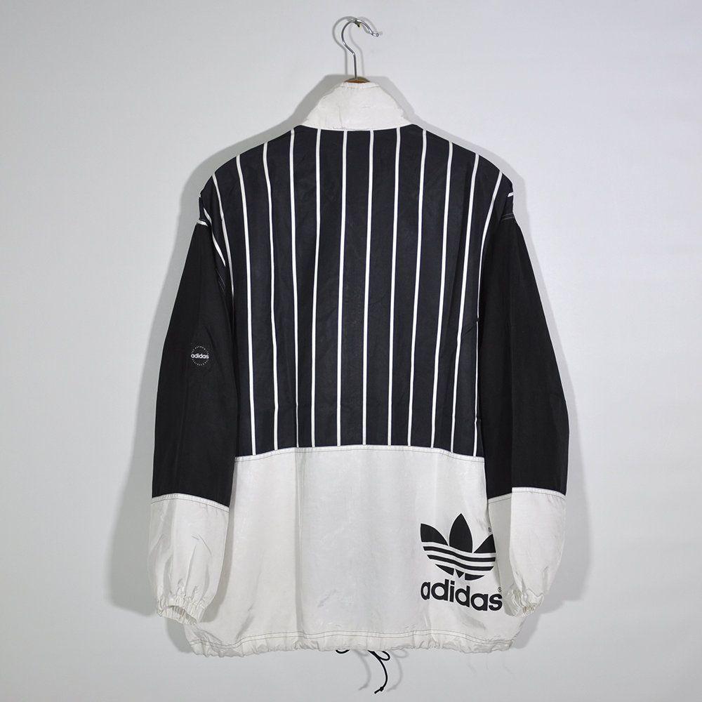 Vintage 90s ADIDAS Tracktop Windbreaker Jacket
