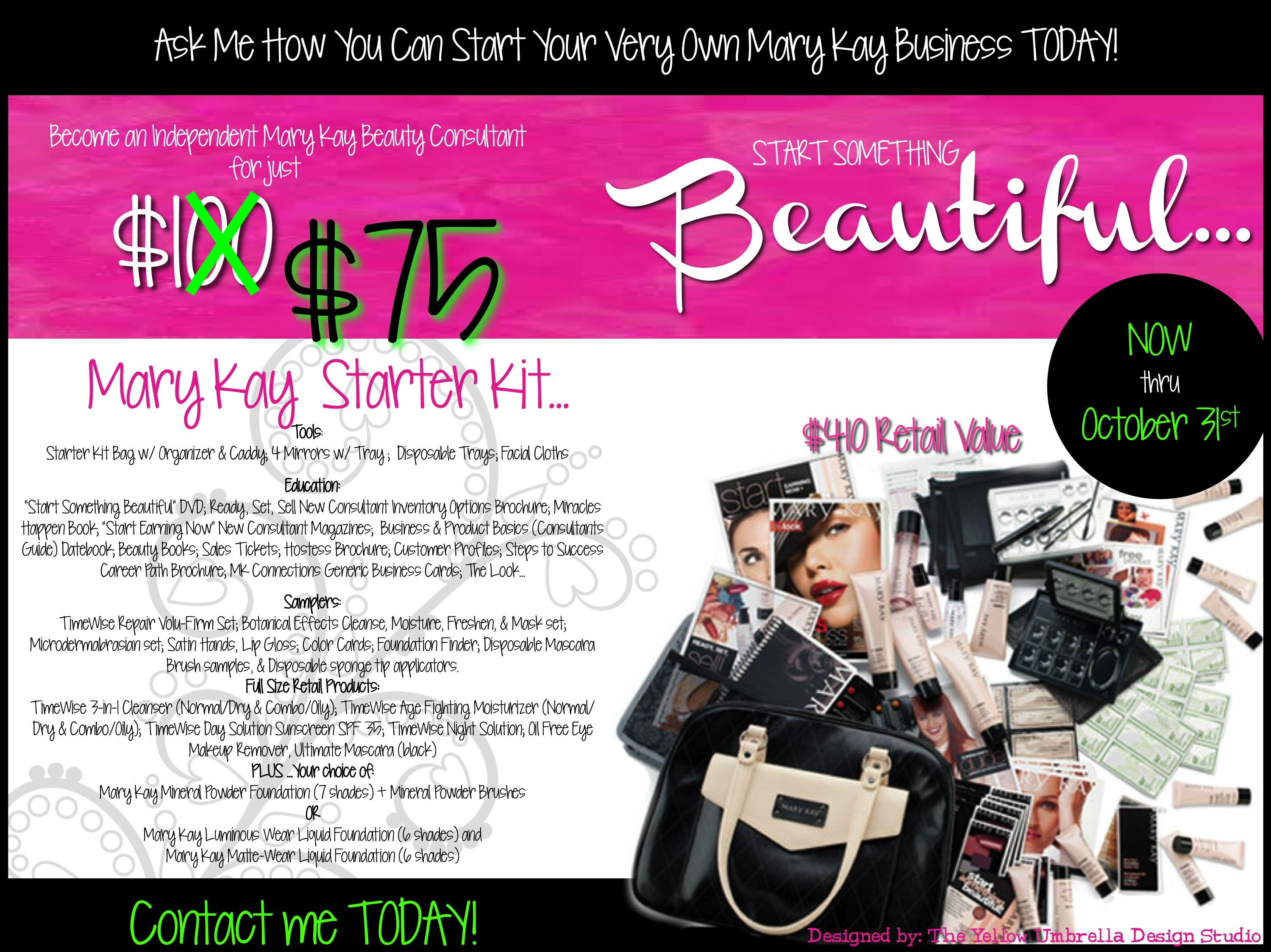 75 mary kay starter kit 2012 marykay mary kay materials september contact your mary kay beauty consultant today ccuart Images