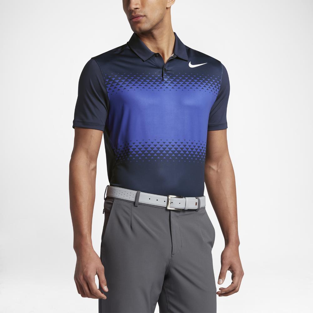 2d37b42b Nike TW Mobility Majors Men's Standard Fit Golf Polo Shirt Size ...