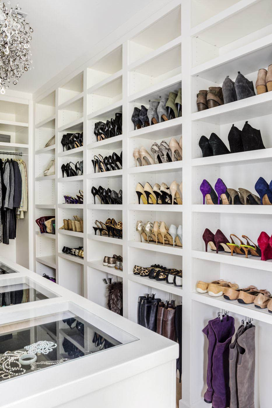 Incredible Shoe Rack Ideas Interior Design Luxury Modern Closet Design Closet Designs