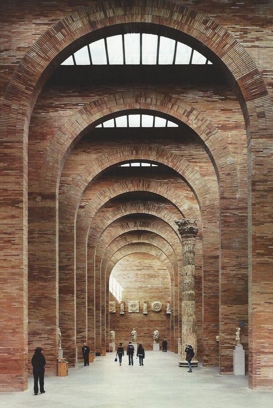 Rafael Moneo Museo nacional de arte Romano a Cartagena