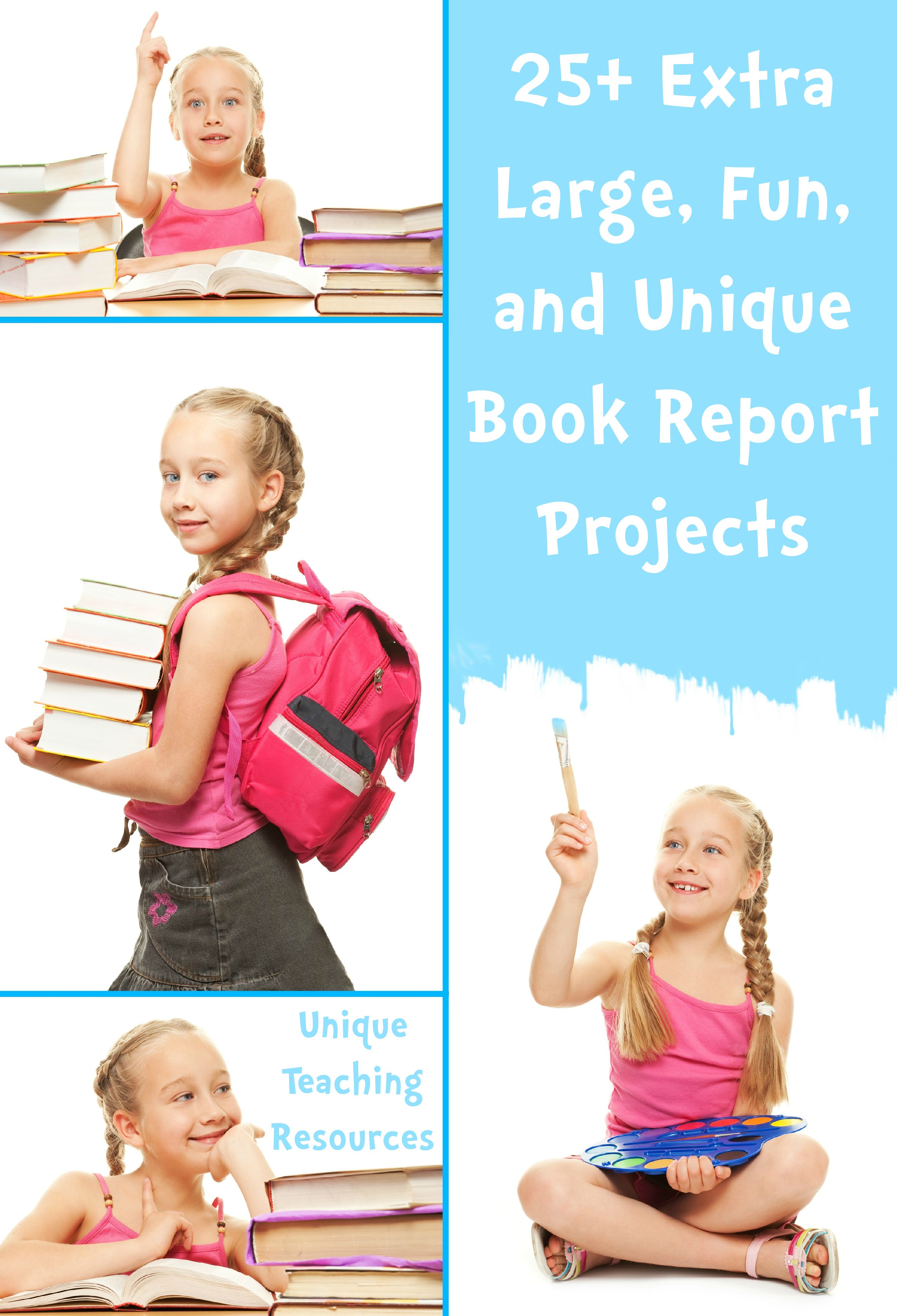25 Book Report Templates Extra Large Fun And Creative Book Report Projects