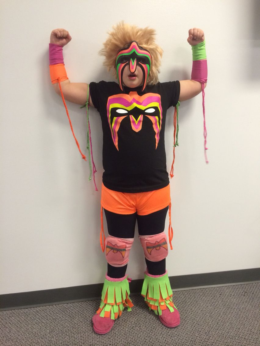 wwe the ultimate warrior costume | costumes in 2018 | pinterest
