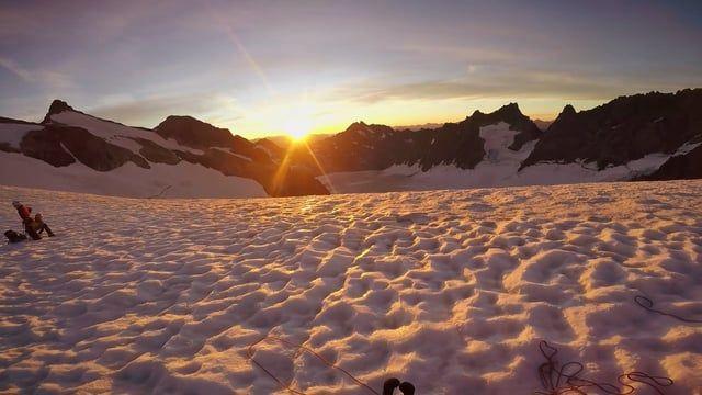 Une approche, une ascension, un sommet, un plaisir simple...