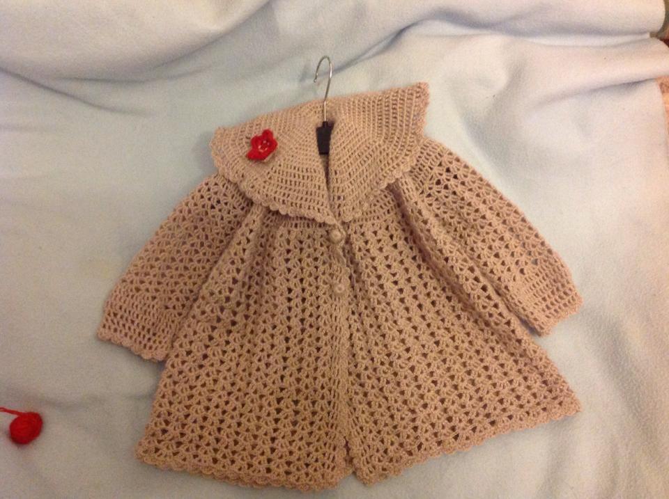 Abrigo Para Ni 241 A Tejido En Crochet Abrigo Para Ni 241 A
