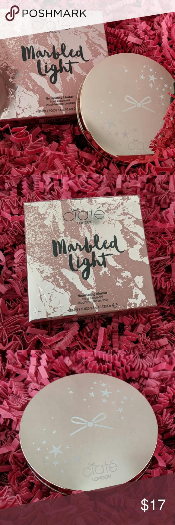 Ciaté Marbled Light Illuminating Blush • Halo in 2020
