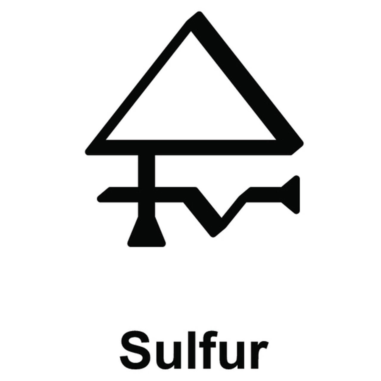 Alchemy Sulfur Symbol Symbols Pinterest Symbols Alchemy