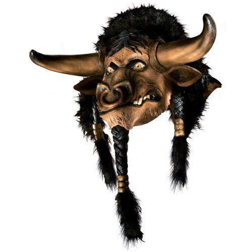 World of Warcraft - Tauren Overhead Latex Mask - http://www.gamezup.com/world-of-warcraft-tauren-overhead-latex-mask-3 - http://ecx.images-amazon.com/images/I/41ZvD-rX6yL.jpg