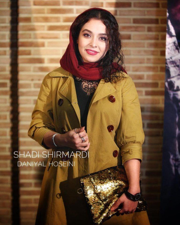 شادی شیرمردی در اکران سریال مینو Iranian Girl Persian Girls Fashion