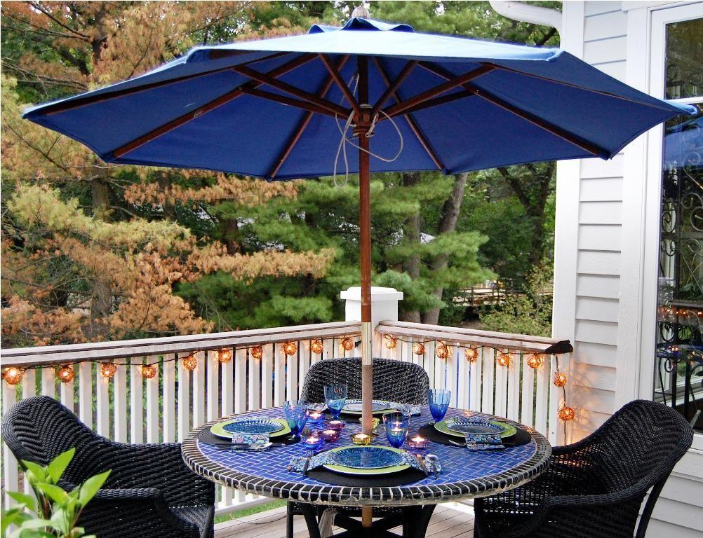 patio table umbrella for small patios