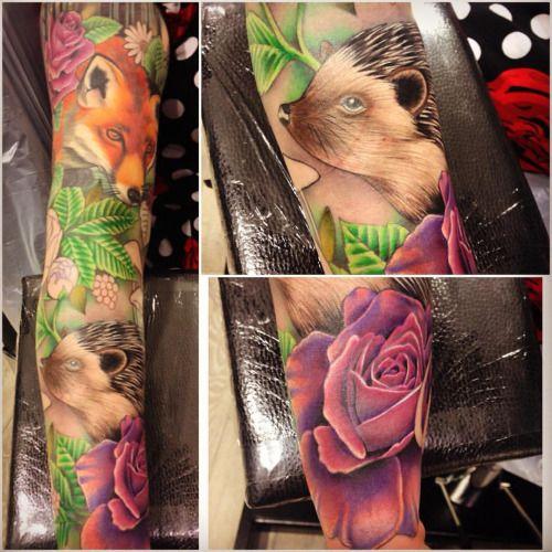 a7a1d8ede woodland sleeve tattoo - Google Search | Tattoo ideas | Sleeve ...