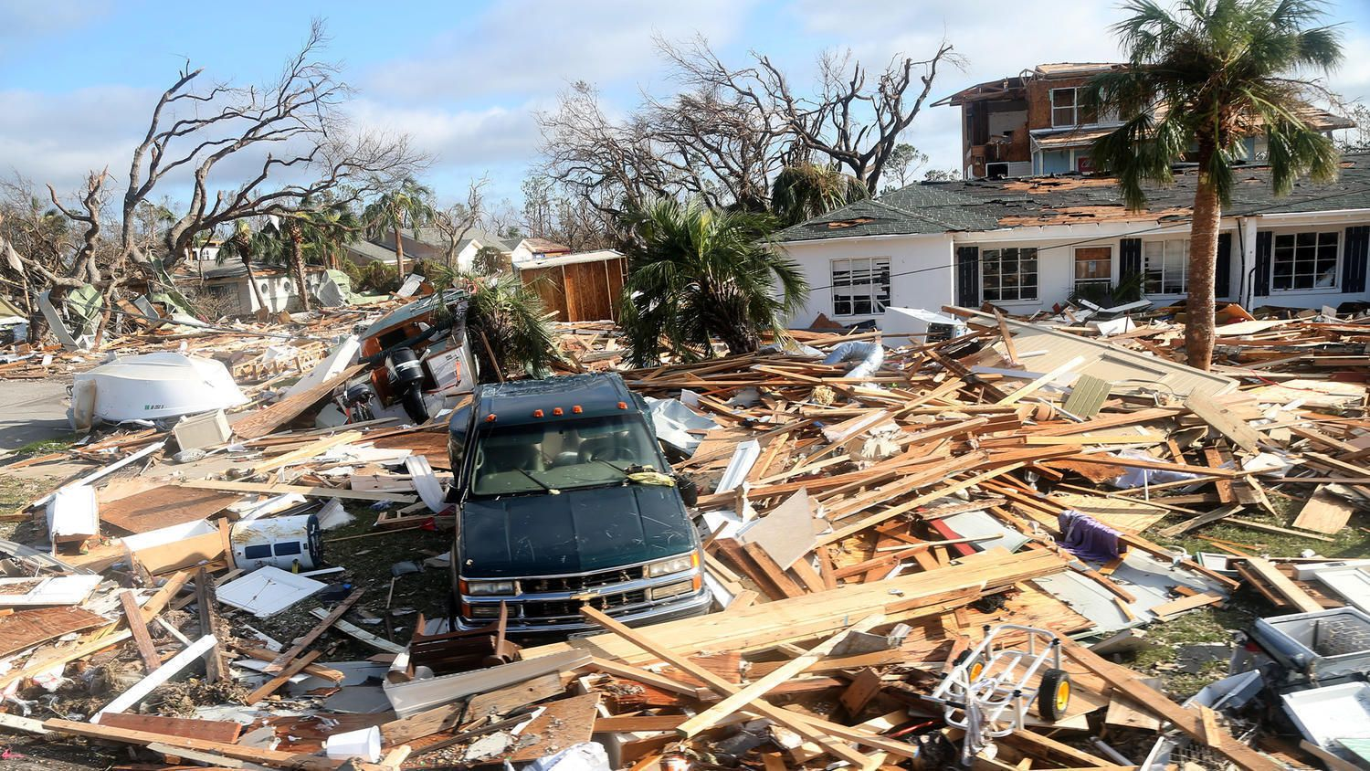 Florida Authorities Say 11 Now Dead From Hurricane Michael News Miami Community Mexico Beach Florida Gulf Coast Florida