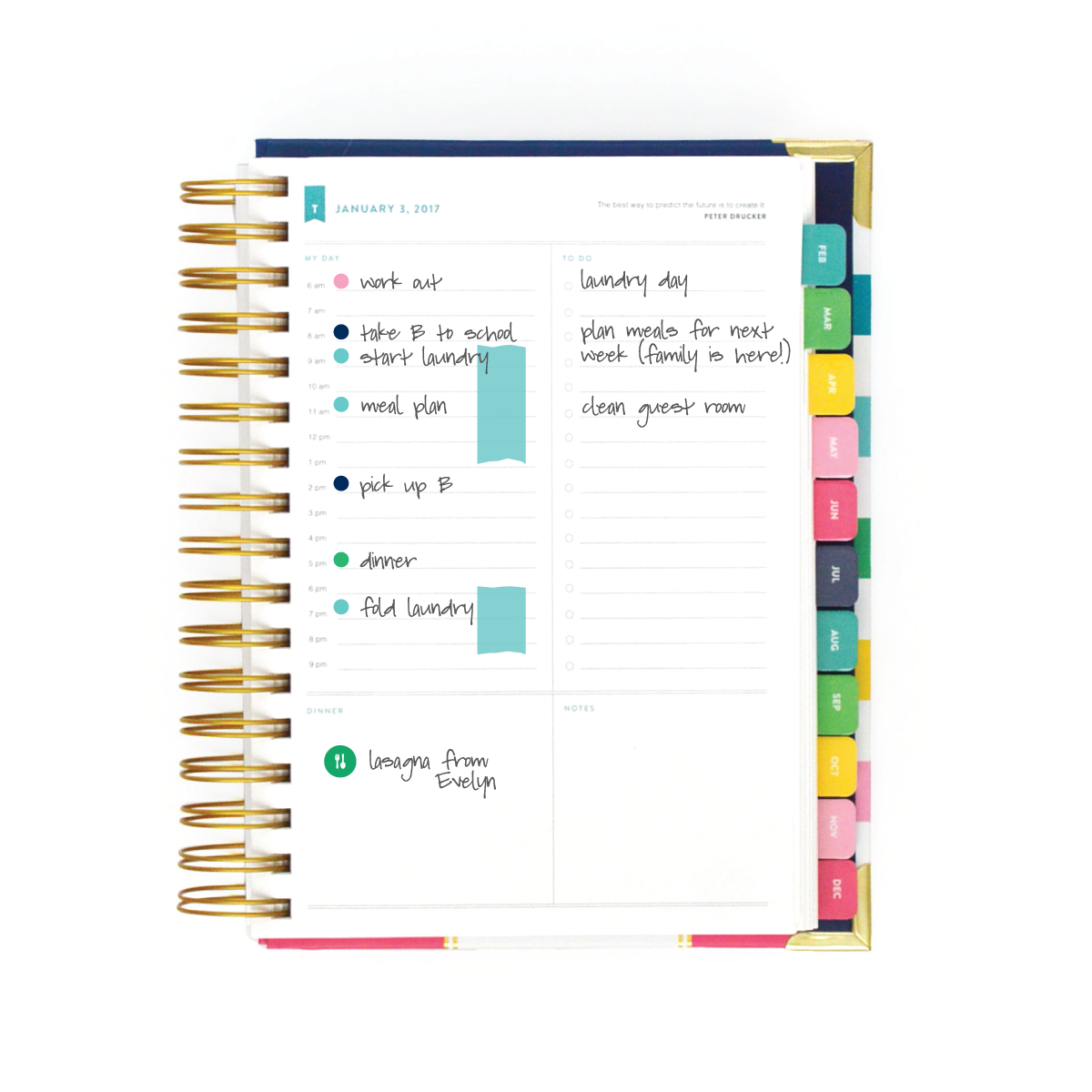 picture about Simplified Planner named Simplifying your Schedule with the Simplified Planner. Day by day