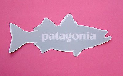 161a5ebc Patagonia-Fish-Sticker-Gray-Striped-Bass-Authentic-Flyfishing-Series ...
