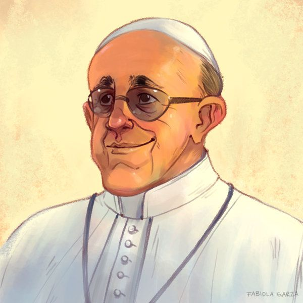 Pope Francis By Fabiolagarza On Deviantart Pope Francis Catholic Artist Art Conference