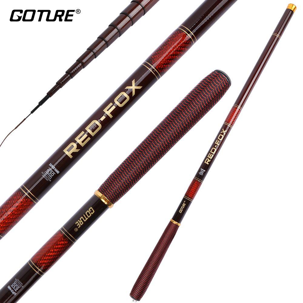Goture Carp Fishing Rod Carbon Feeder Rods Telescopic