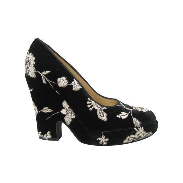 Dolce & Gabbana Embroidered Platform Wedges pay with visa online cheap sale 100% authentic cheap price wholesale price fast delivery eFhzuhZSS