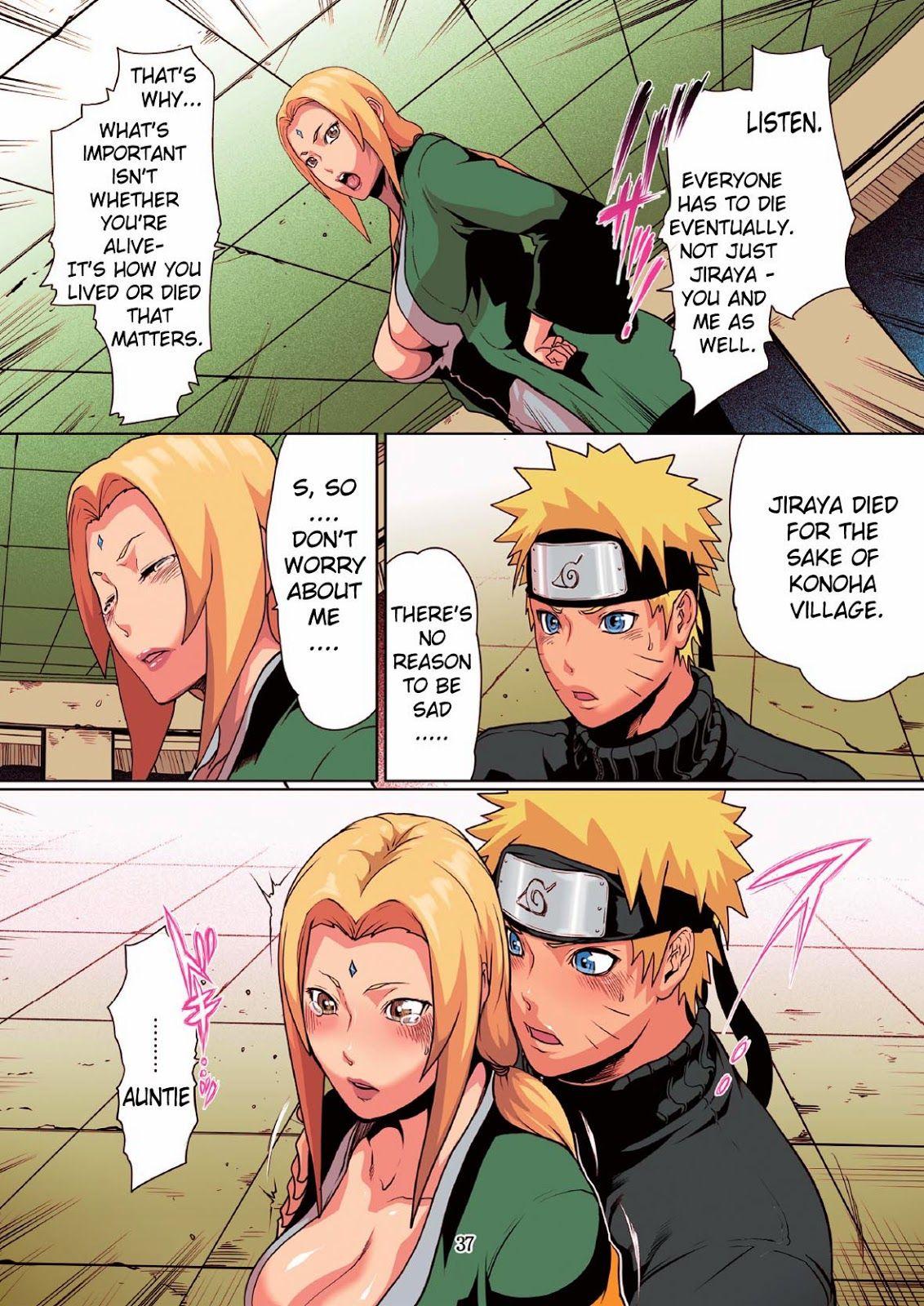 Naruto Tsunade porno fumetti
