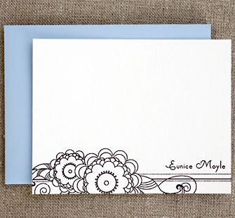 doodle becomes greeting card