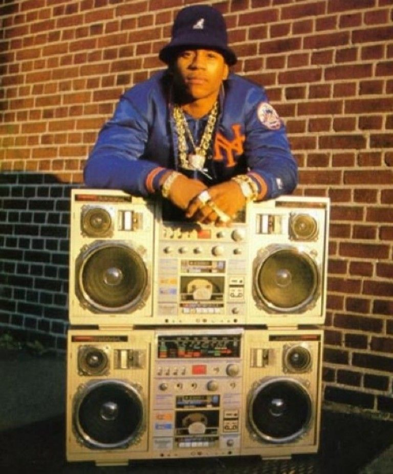 LL Cool J and the old school boom box | Love the 80's | 90s hip hop