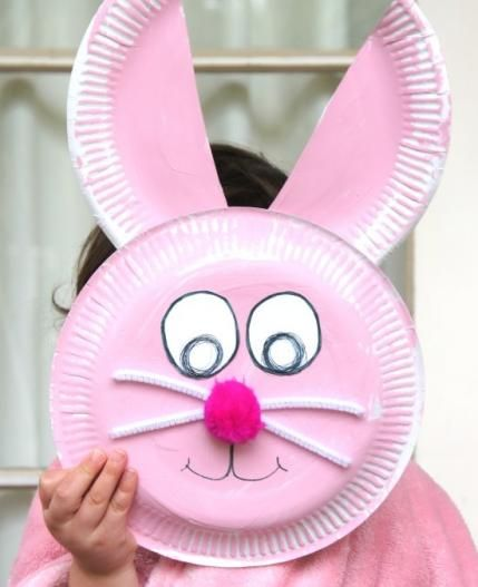 10 Cute Easter Crafts To Make With A Paper Plate Easter Crafts