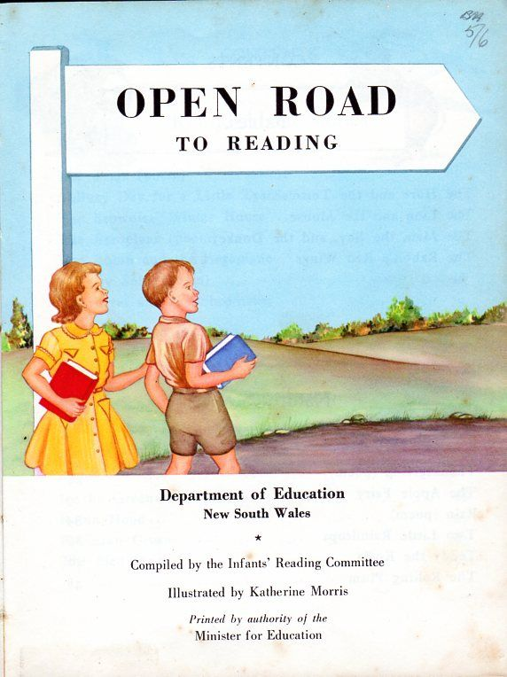 Open Road to Reading, NSW Education Dept, 1960s   School