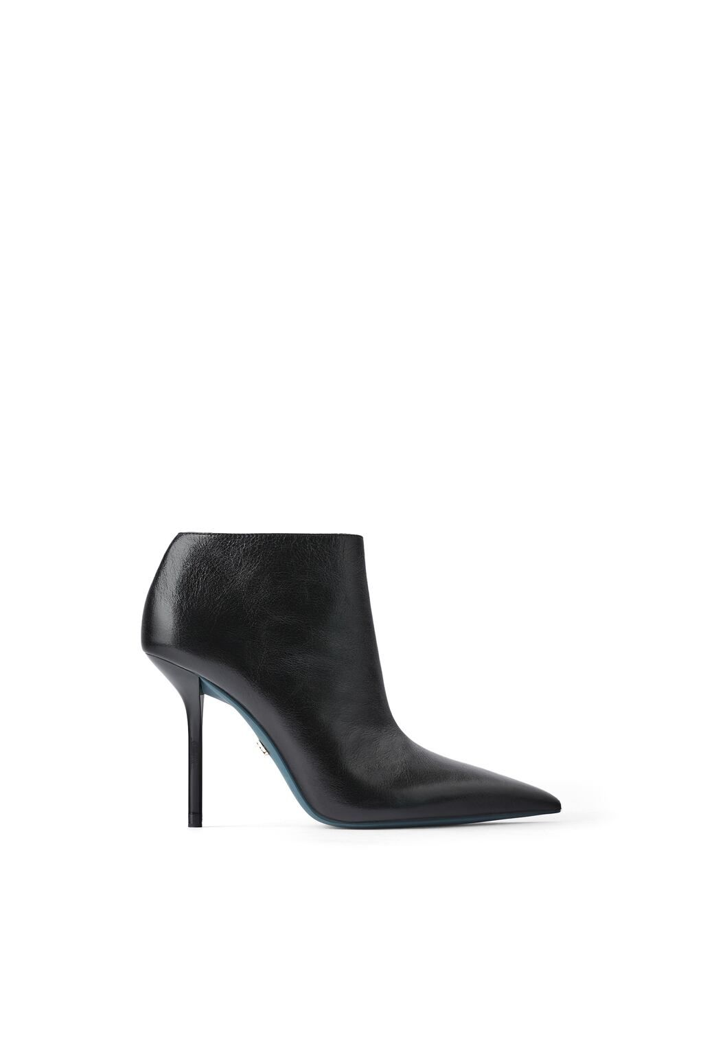 View All Shoes Woman Zara United Kingdom Leather Ankle Boots