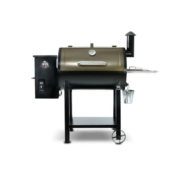 Pit Boss 820 Deluxe 55 Quot Pellet Grill And Smoker Wood